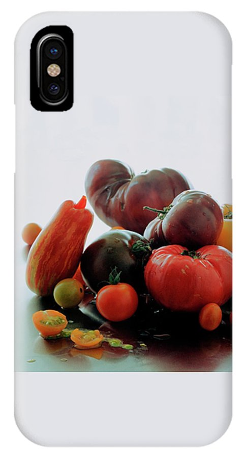 Vegetables IPhone X Case featuring the photograph A Variety Of Vegetables by Romulo Yanes