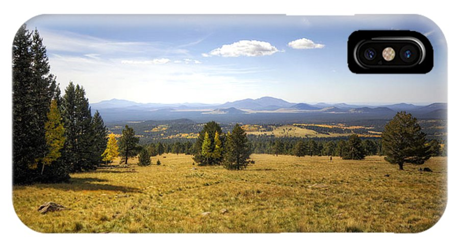 Arizona IPhone X Case featuring the photograph A View From The Peaks by Saija Lehtonen