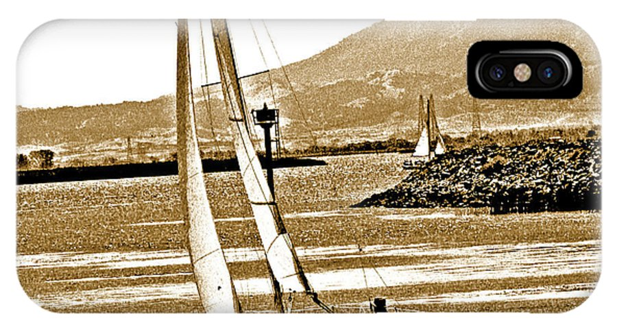 Mount Diablo IPhone X Case featuring the photograph A Welcome Wind by Joseph Coulombe