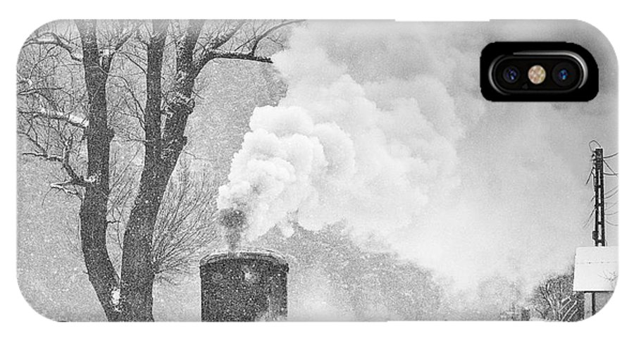 Bw IPhone X Case featuring the photograph A Winter's Tale by Sorin Onisor
