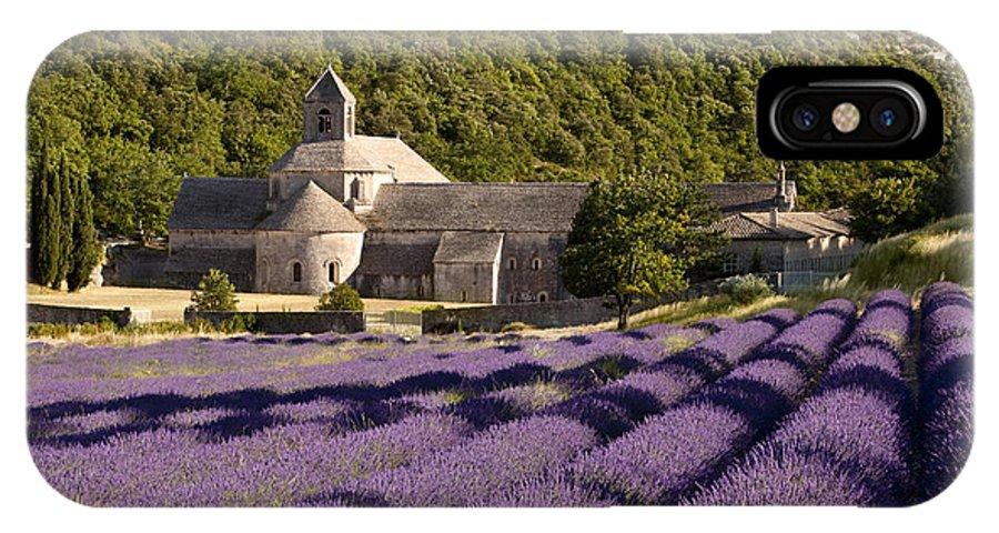 Abbaye De Senanque IPhone X / XS Case featuring the photograph Abbaye De Senanque by Brian Jannsen