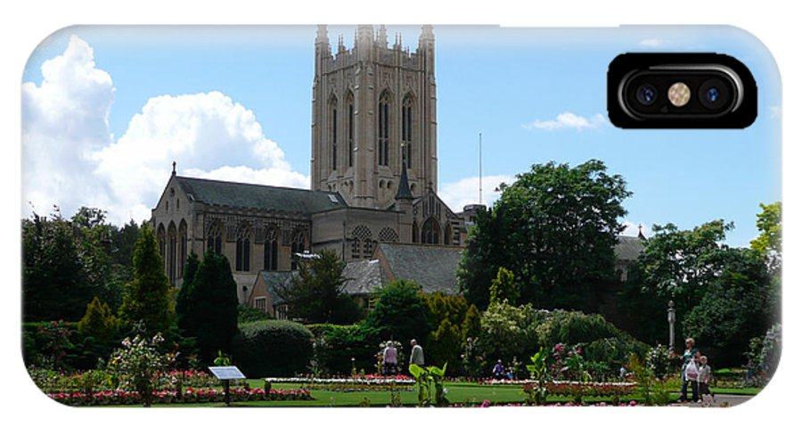 Abbey IPhone X Case featuring the photograph Abbey Gardens by Dale Reynolds