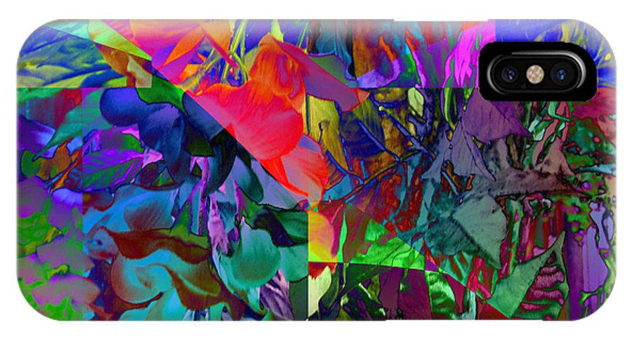 Nature IPhone X Case featuring the digital art Absent-minded by Ed Caravana