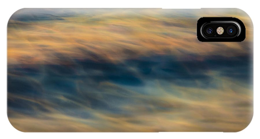 Orias IPhone X Case featuring the photograph Abstract 73a8338 by David Orias