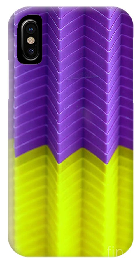 Plastic IPhone X Case featuring the photograph Abstract Cups by Henrik Lehnerer