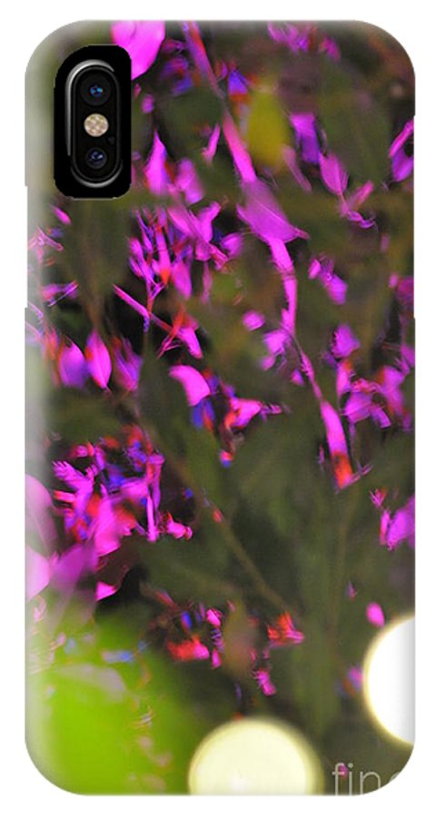 Abstract Nature IPhone X Case featuring the photograph Abstract Nature by Scott Richards