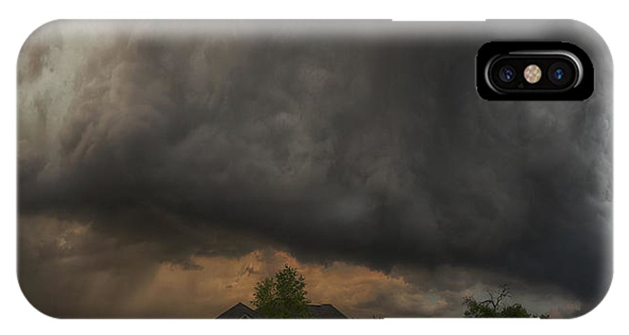 Storm IPhone X Case featuring the photograph Acoplypse Now by Allen Gresham