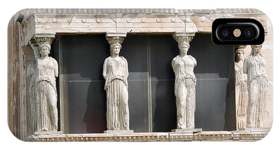 Acropolis Athens IPhone X Case featuring the photograph Acropolis Revisited 2 by Paul Sandilands