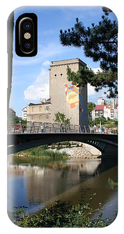 Bunker IPhone X / XS Case featuring the photograph Across The River by Christiane Schulze Art And Photography