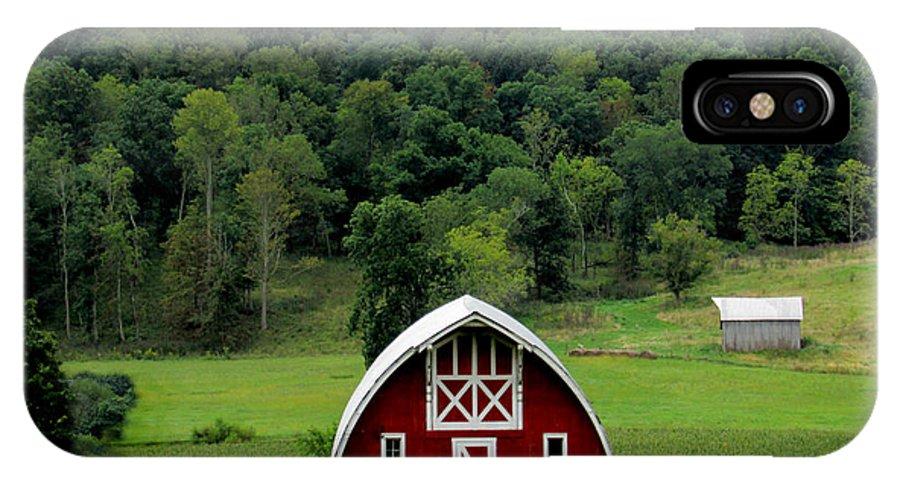 Barn IPhone X Case featuring the photograph Aep1354a by Scott B Bennett