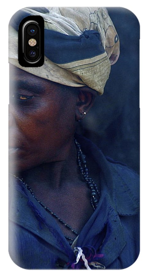 Africa IPhone X Case featuring the photograph African Blues by Marc Levine