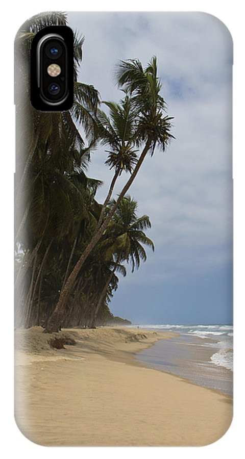 Beach IPhone X Case featuring the photograph African Paradise by Kendal Brenneman