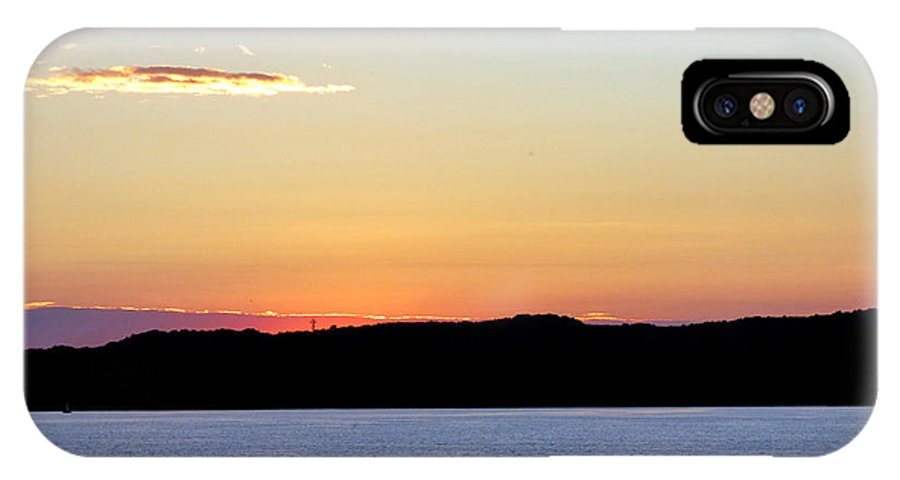 Landscape IPhone X Case featuring the photograph After Sundown by Rennae Christman