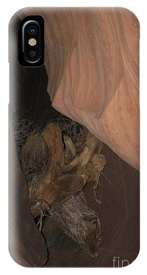 Lower IPhone X Case featuring the photograph After The Flood by Brenda Kean