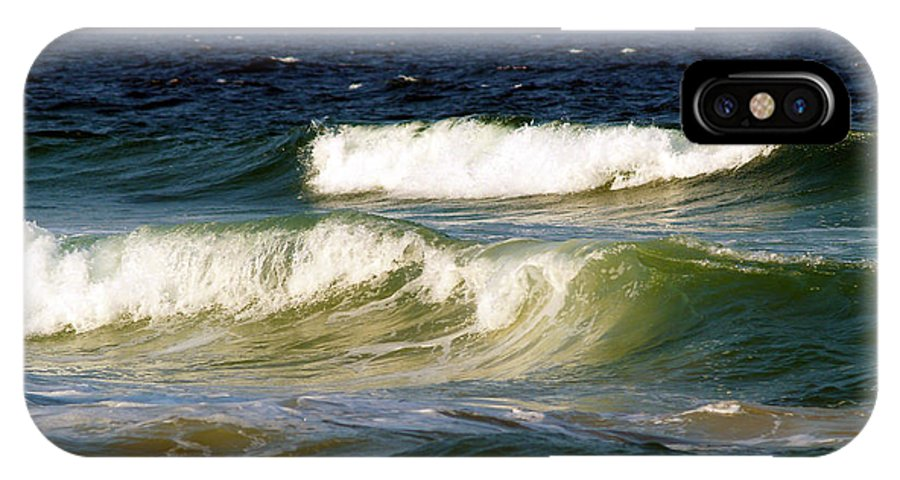 Fine Art Print IPhone X Case featuring the photograph Aftermath Of A Storm by Patricia Griffin Brett
