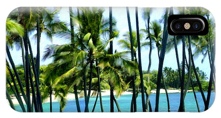 Hawaii IPhone X Case featuring the photograph Afternoon At Kakaha Kai by Kurt Van Wagner