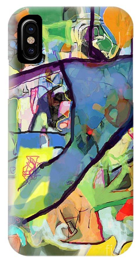Torah IPhone X / XS Case featuring the digital art Self-renewal 15r by David Baruch Wolk