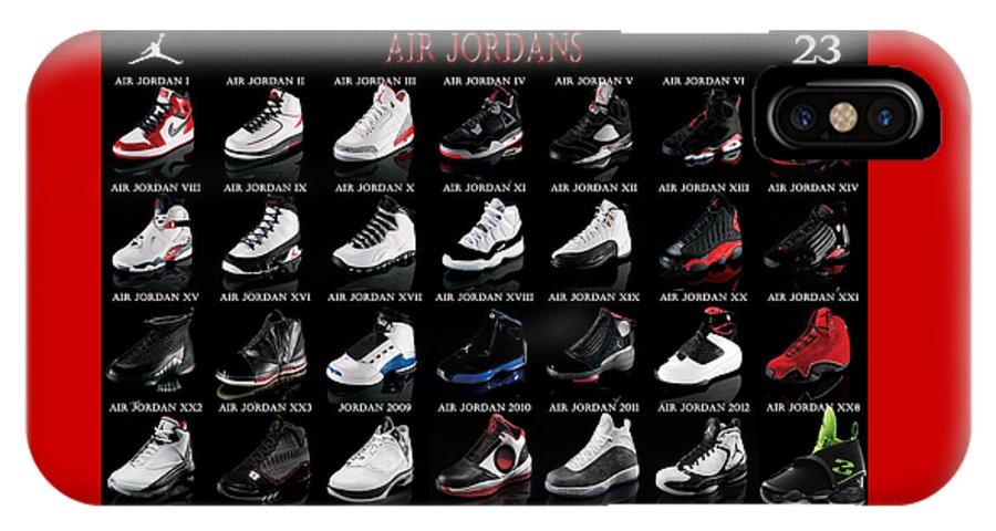 sports shoes a721a 825da Air Jordan Shoe Gallery IPhone X Case