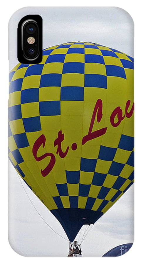 Hot Air Balloons IPhone X Case featuring the photograph Air St. Louis by Jamie Smith