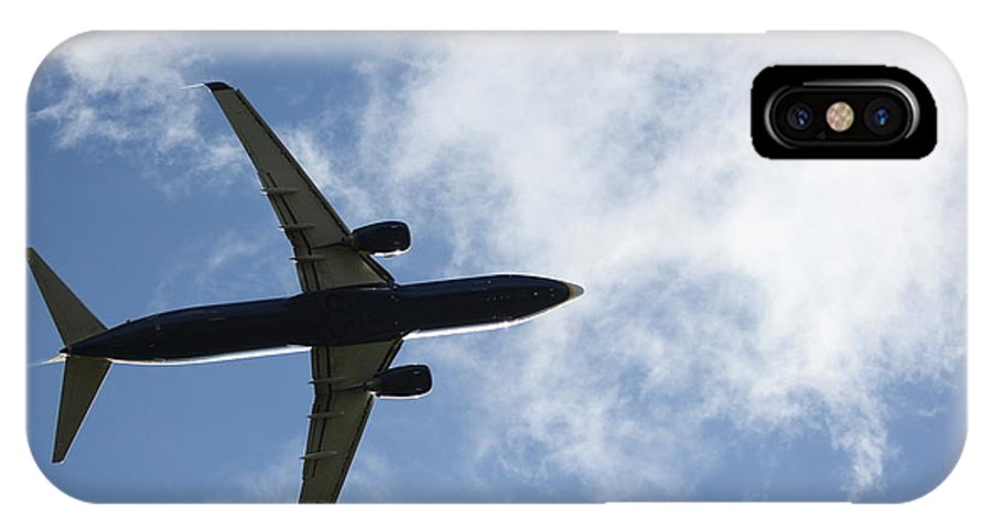 Airplane IPhone X Case featuring the photograph Airplane IIi by Four Hands Art