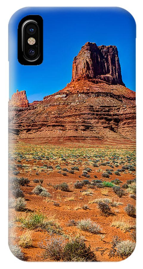 Airport IPhone X Case featuring the photograph Airport Tower II by Chad Dutson
