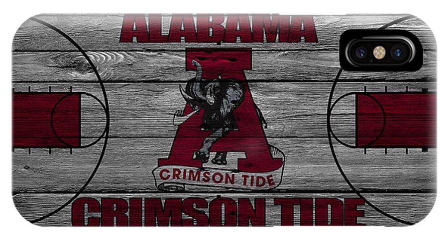 Crimson Tide IPhone X Case featuring the photograph Alabama Crimson Tide by Joe Hamilton