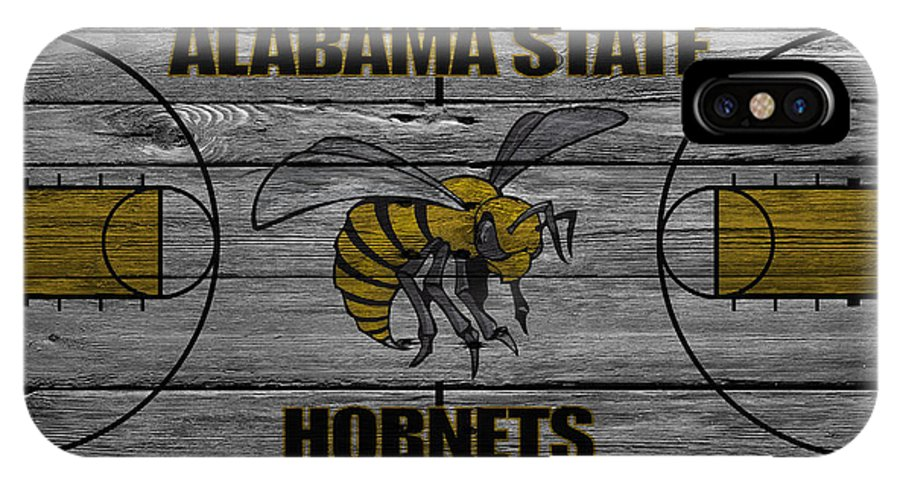 Hornets IPhone X Case featuring the photograph Alabama State Hornets by Joe Hamilton