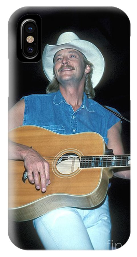 Singer IPhone X Case featuring the photograph Alan Jackson by Concert Photos