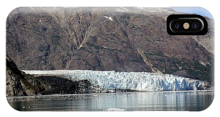 Alaska IPhone X Case featuring the photograph Alaska Glacier by Sophie Vigneault