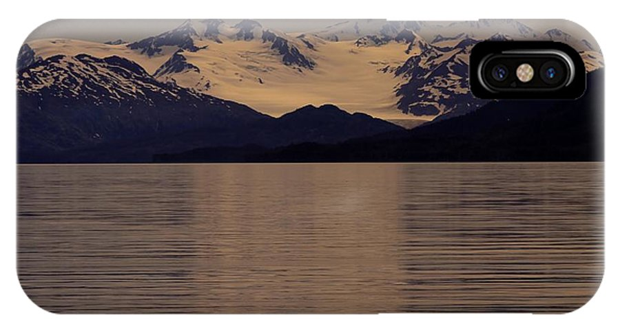 Alaska IPhone X Case featuring the photograph Alaskan Light by Sophie Vigneault