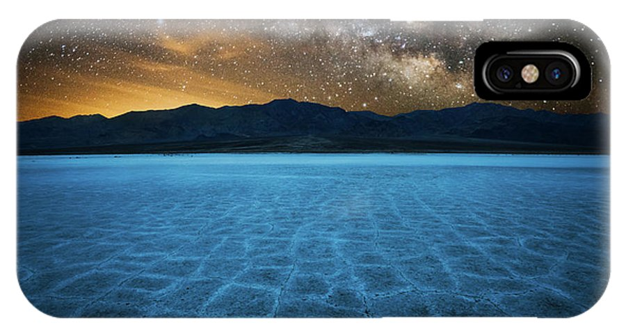 Death Valley IPhone X Case featuring the photograph Alien World by John Fan