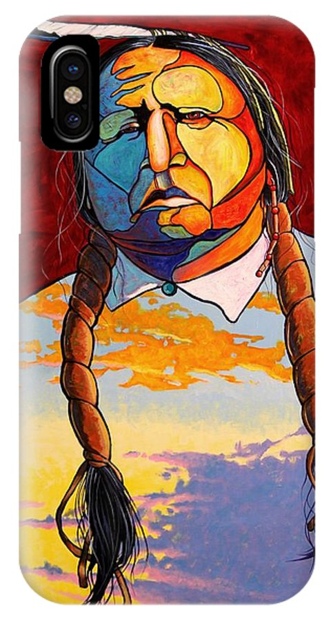 Spiritual IPhone Case featuring the painting All That I Am by Joe Triano