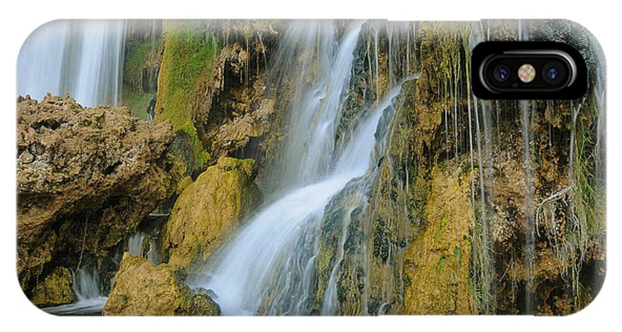 Water IPhone X Case featuring the photograph All Washed Up by Jim Southwell