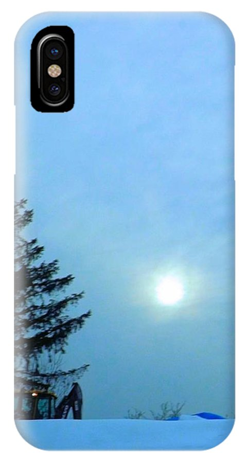 Sundown IPhone X / XS Case featuring the photograph Almost Quittin' Time by Robyn King