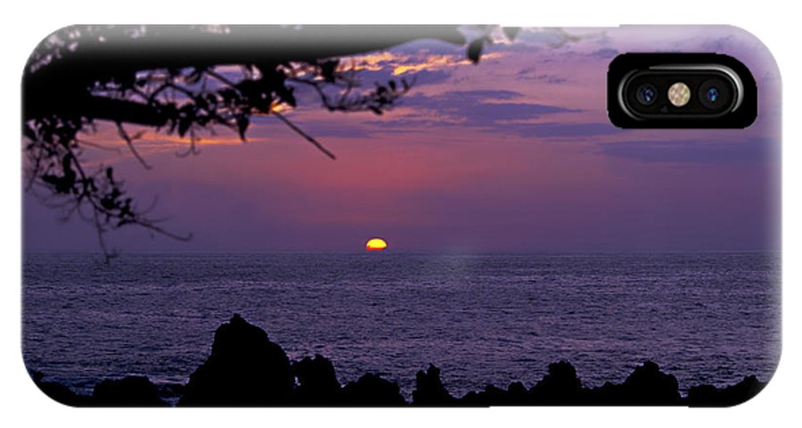 Sunset Photography IPhone X Case featuring the photograph Aloha V by Patricia Griffin Brett