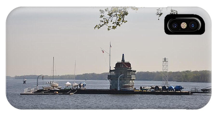 Along IPhone X Case featuring the photograph Along The Delaware River In New Jersey by Bill Cannon