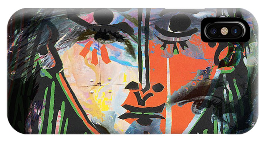 Abstract IPhone X Case featuring the photograph Alterations Of Drugs by The Artist Project