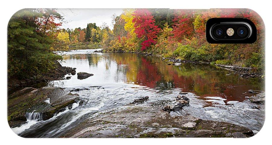 Autumn IPhone X Case featuring the photograph Amable Du Fond Autumn by Robert Morton