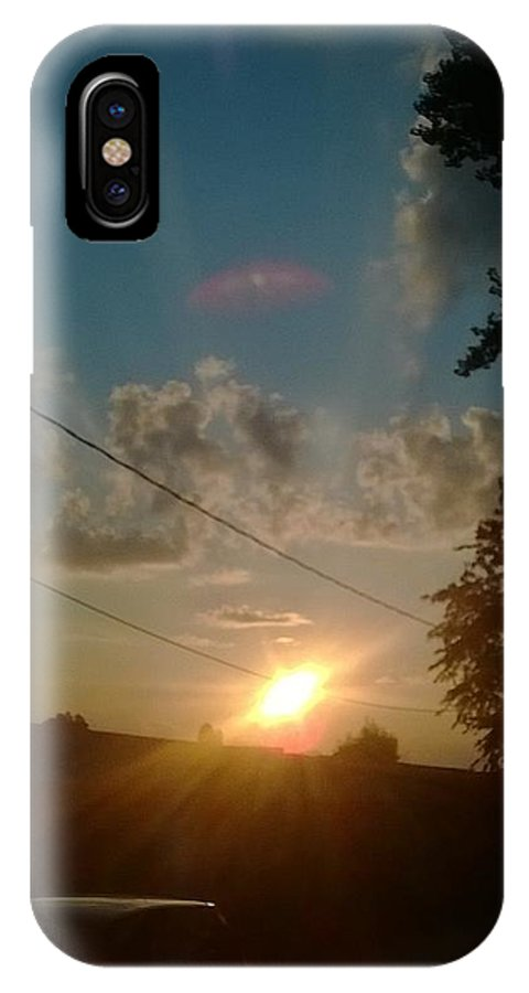 Sun IPhone X Case featuring the photograph Amazing by Ajdin Leo