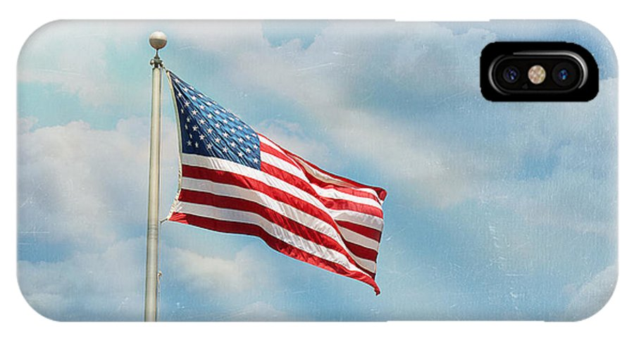 America IPhone X Case featuring the photograph America The Beautiful by Ken Gehring