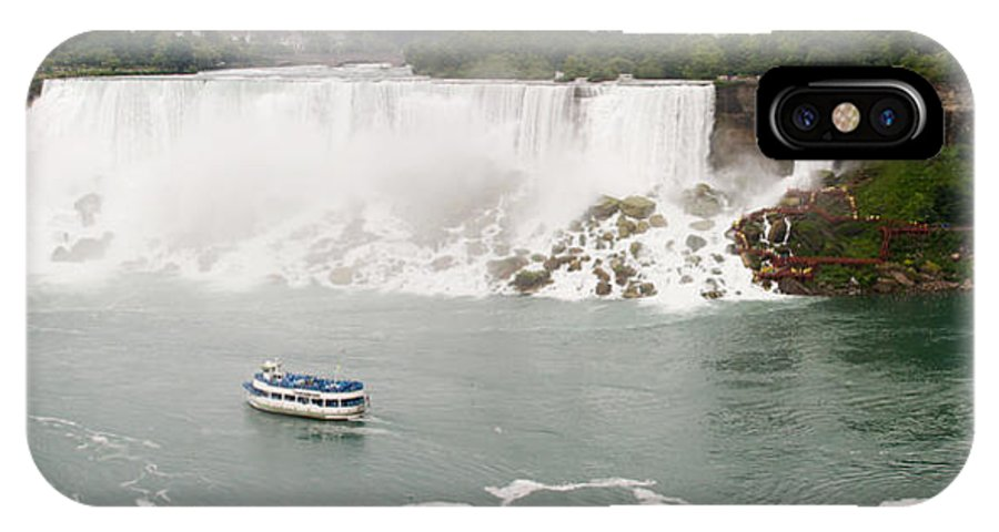 3scape IPhone Case featuring the photograph American Falls by Adam Romanowicz