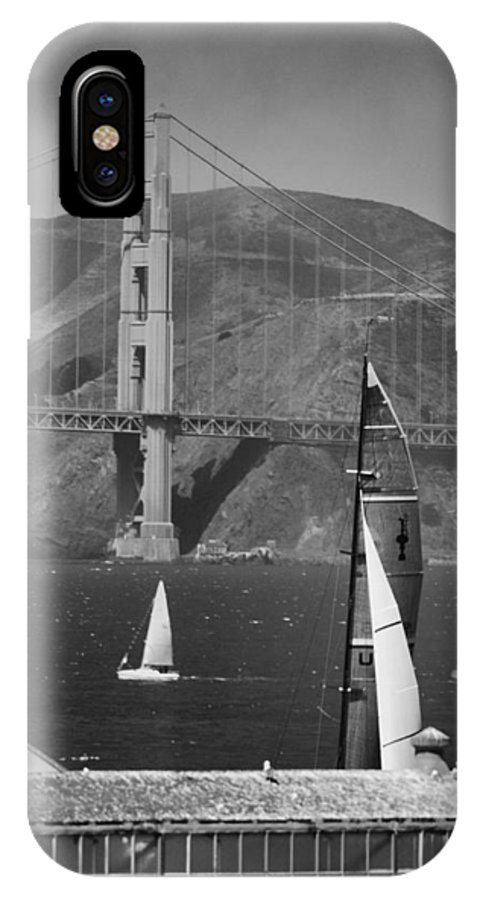 America's Cup IPhone X Case featuring the photograph America's Cup by Silvio Ligutti