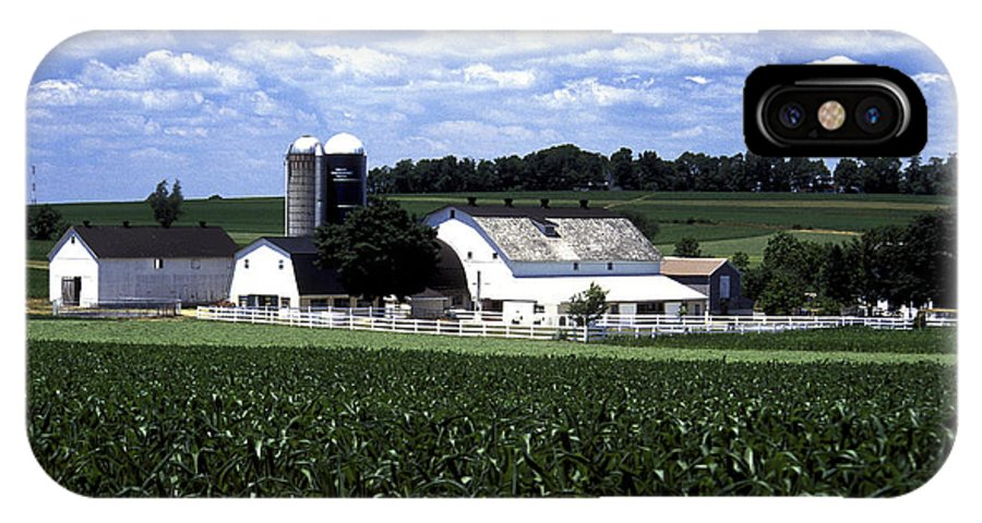 Amish IPhone X Case featuring the photograph Amish Country - 38 by Paul W Faust - Impressions of Light