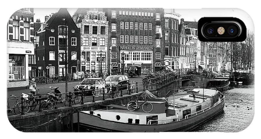 Amsterdam Day IPhone X Case featuring the photograph Amsterdam Day by John Rizzuto