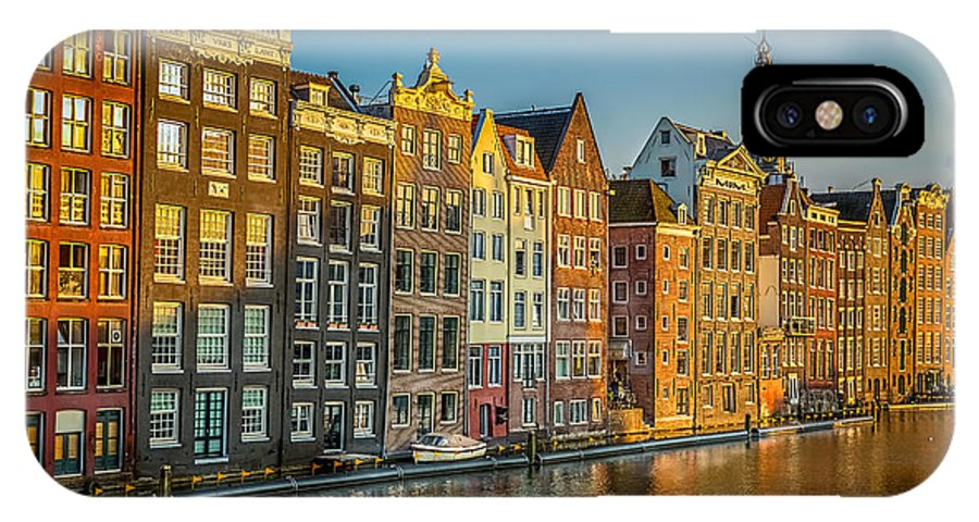 Landscape IPhone X Case featuring the photograph Amsterdam by Neah Falco