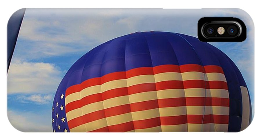Hot Air Balloon IPhone X Case featuring the photograph An American Tradition by Dan Sproul