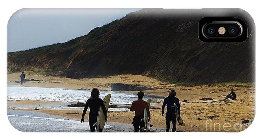 Blair Stuart IPhone X Case featuring the photograph An Aussie Pastime by Blair Stuart