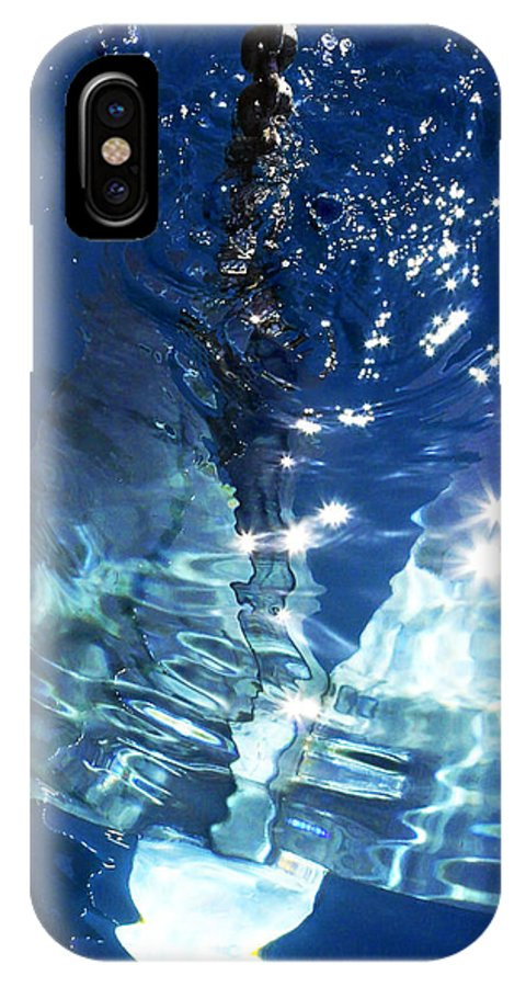 Spain IPhone X Case featuring the photograph Anchors Away by Simeon Taylor