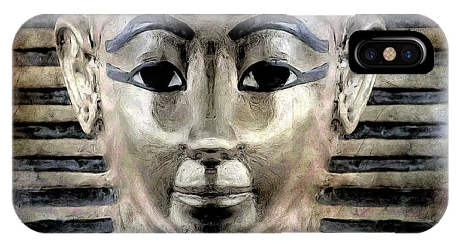 Egypt IPhone X Case featuring the photograph Anciant History by Ben Yassa