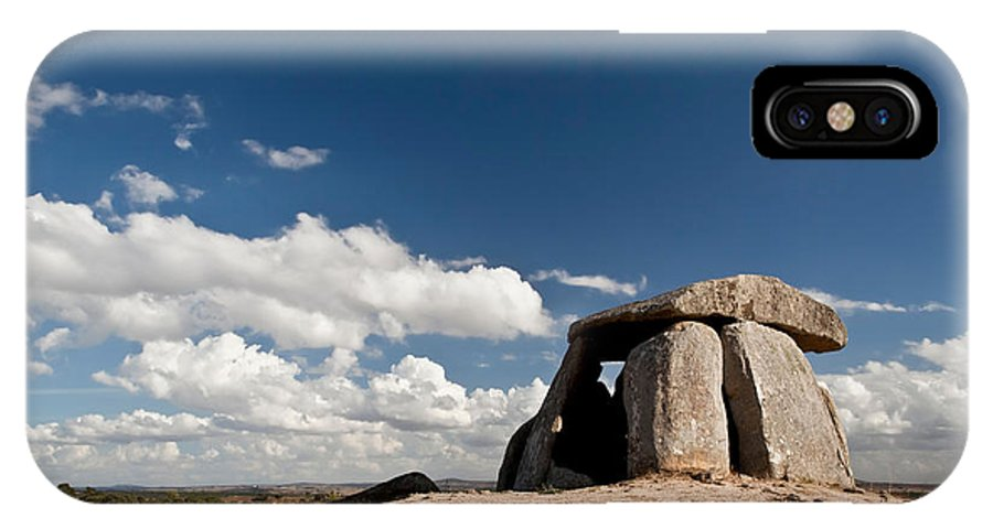 Dolmen IPhone X / XS Case featuring the photograph Ancient Dolmen by Jose Elias - Sofia Pereira